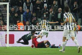 Juventus-Milan Coppa Italia