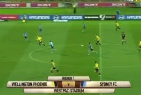 Highlights Wellington - SydneyFc Oct. 06th 2012