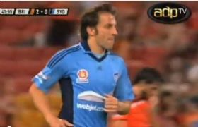 November 16th 2012 - Brisbane Roar FC vs Sydney FC