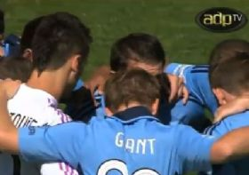 December 09th 2012 - Wellington PhoenixFC vs SydneyFC