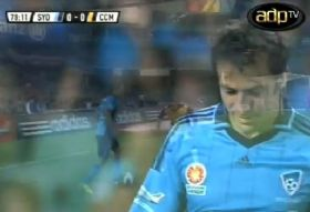 December 27th 2012 - SydneyFC vs Central Coast Mariners FC